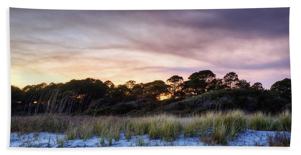 Beach Beach Towel featuring the photograph Smoke In The Beach Air by Phill Doherty