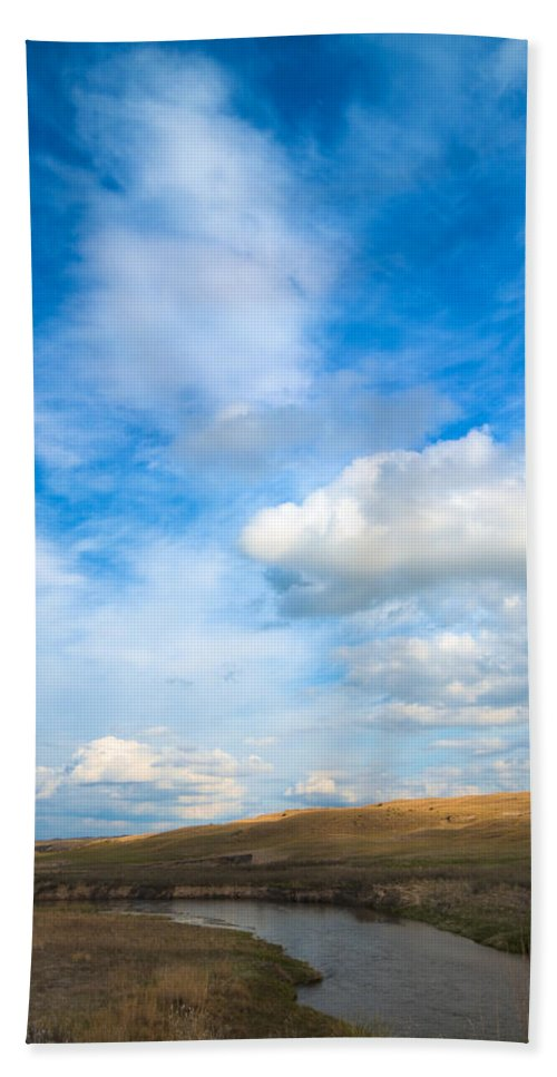 Snake River Beach Towel featuring the photograph Snake River by Rebecca Akporiaye