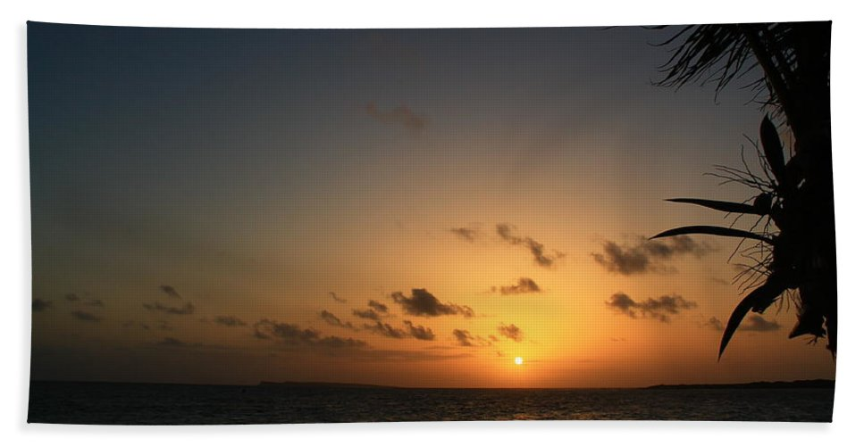 Sunrise Beach Towel featuring the photograph So Nice by Catie Canetti