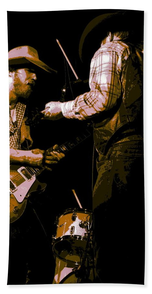 Tommy Crain Beach Towel featuring the photograph Southern Jam By The Cdb by Ben Upham
