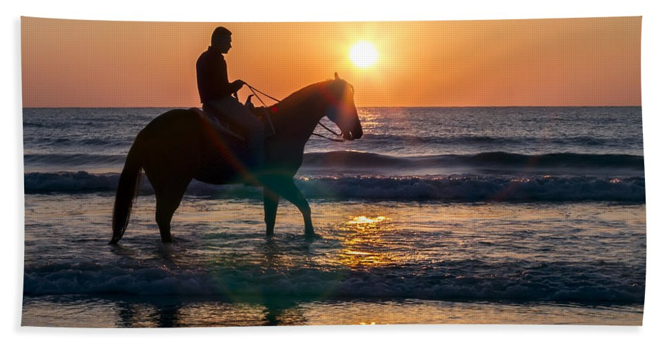 Horse Beach Towel featuring the photograph Speak To Me by Janet Fikar