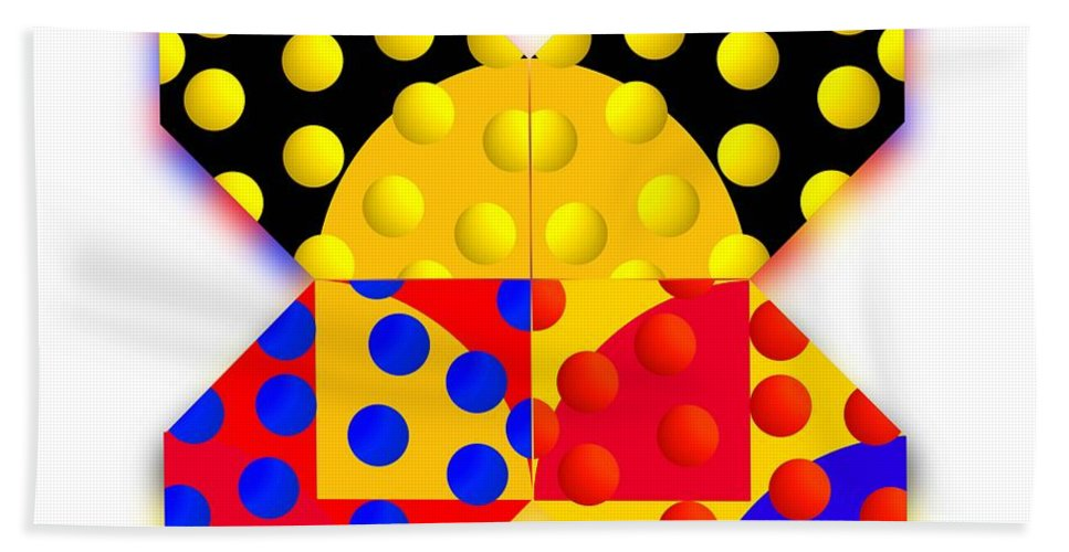 X Beach Towel featuring the painting Sport Spot by Charles Stuart