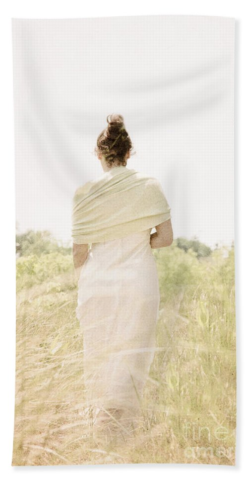 Woman Beach Towel featuring the photograph Spring Breeze by Margie Hurwich