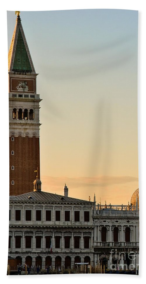 Sea Beach Towel featuring the photograph St Marks Sunset by Jim Chamberlain