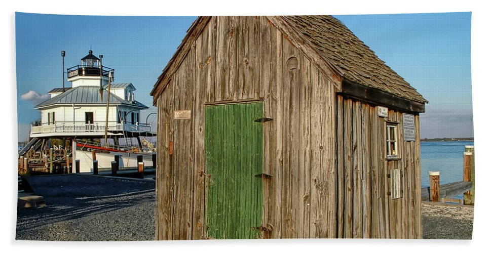 St Michaels Maryland Beach Towel featuring the photograph St Michaels Maryland by Dave Mills
