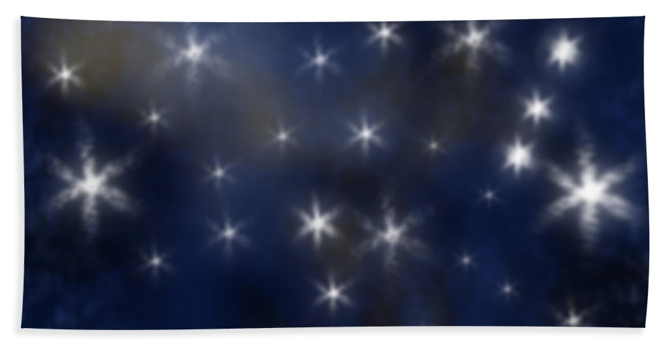 Clay Beach Towel featuring the photograph Starry Night by Clayton Bruster