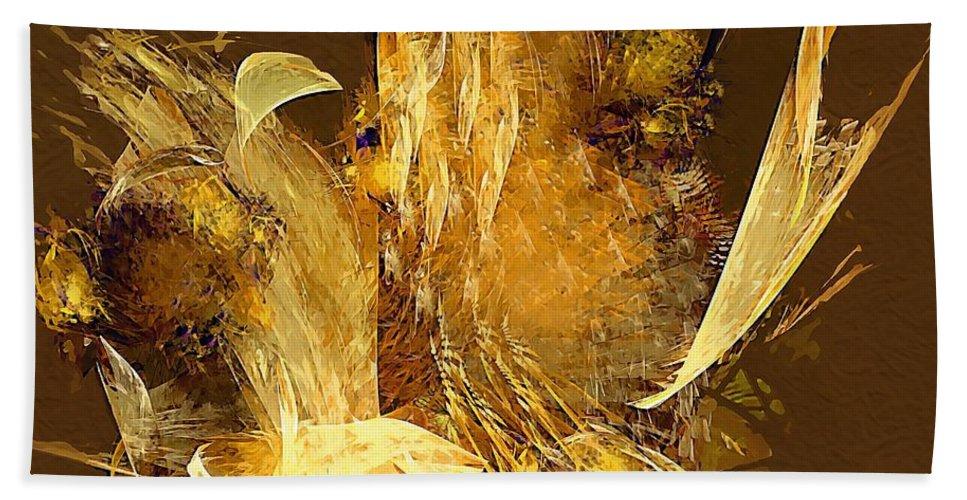 Painting Beach Towel featuring the digital art Still Life by Marek Lutek
