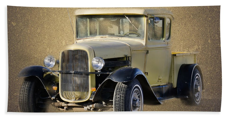 Ford Beach Towel featuring the photograph Street Rod by Betty LaRue