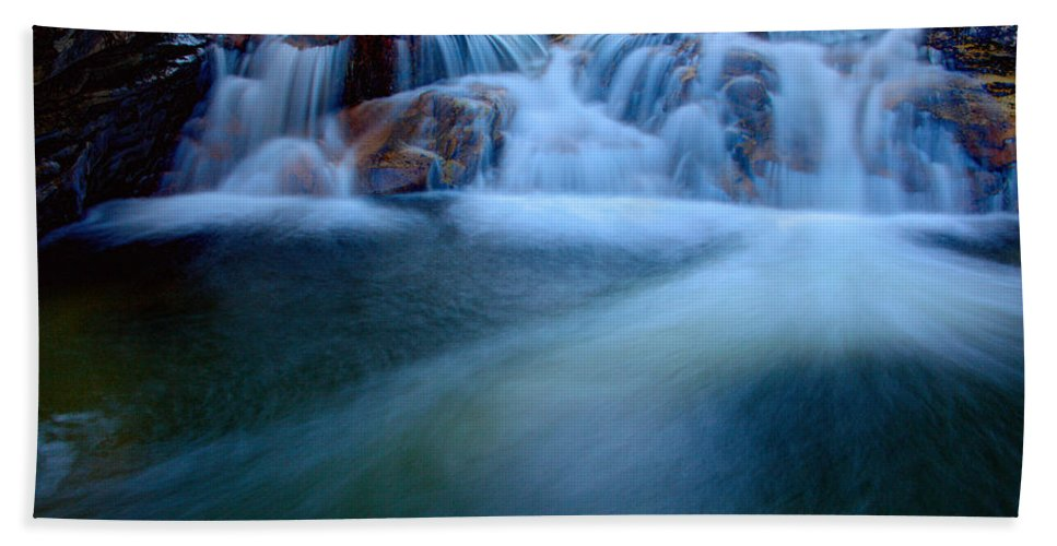 Outdoor Beach Towel featuring the photograph Summer Cascade by Chad Dutson