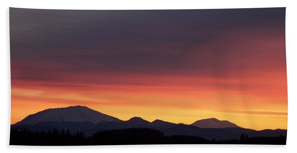 Sunrise 3 Beach Towel featuring the photograph Sunrise 3 by Chalet Roome-Rigdon