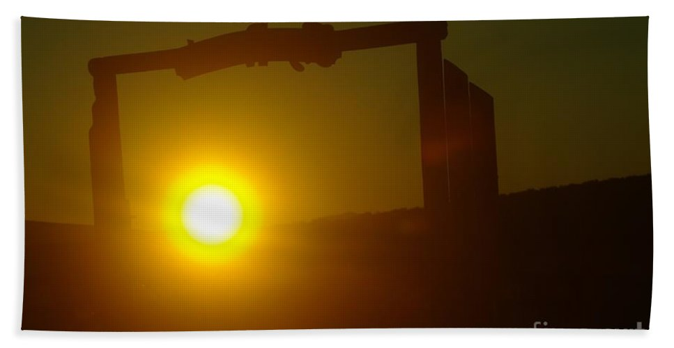 Dawn Beach Towel featuring the photograph Sunrise On The Sage Ranch by Jeff Swan
