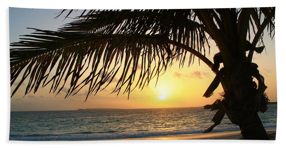 Sunrise Beach Towel featuring the photograph Sunrise Time by Catie Canetti