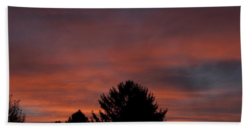 Photography Beach Towel featuring the photograph Sunset Spirit In The Sky by Steven Natanson