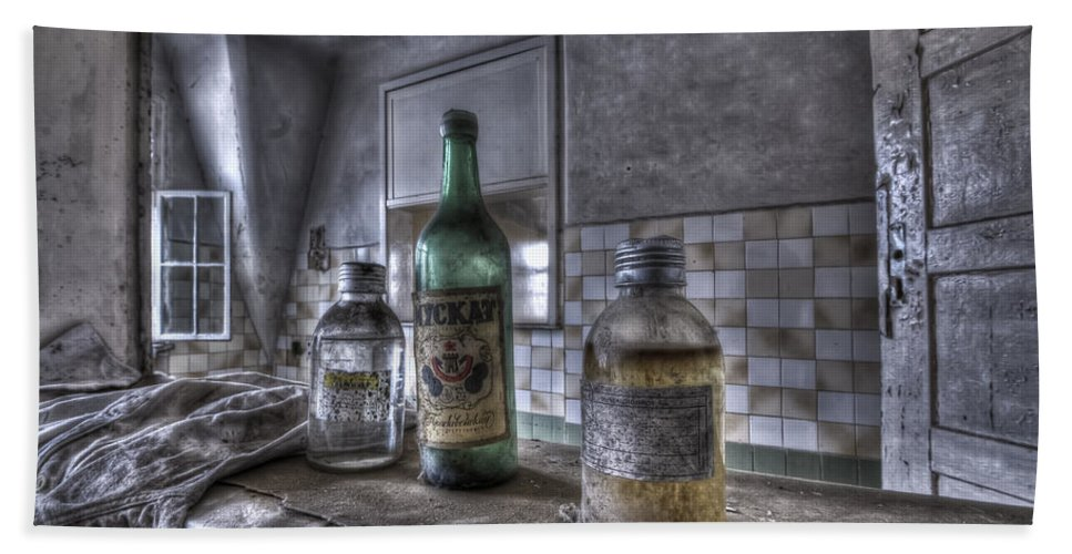 Urbex Beach Towel featuring the photograph Take Your Soviet Medicine by Nathan Wright