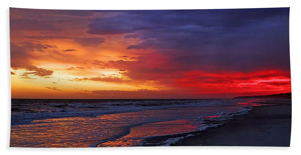 Beach Beach Towel featuring the photograph Ten Minutes On The Beach by Phill Doherty