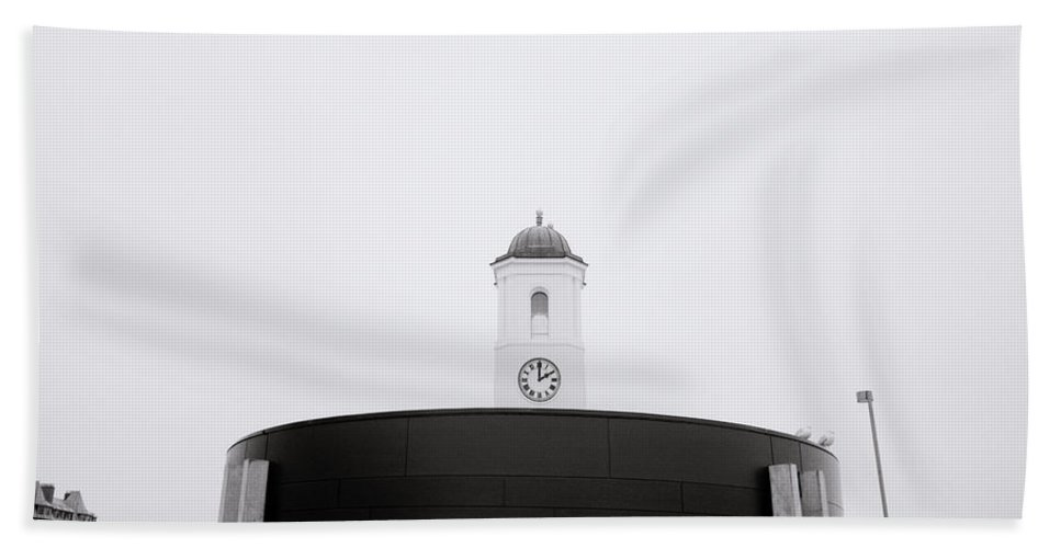 Time Beach Towel featuring the photograph The Clock Tower by Shaun Higson