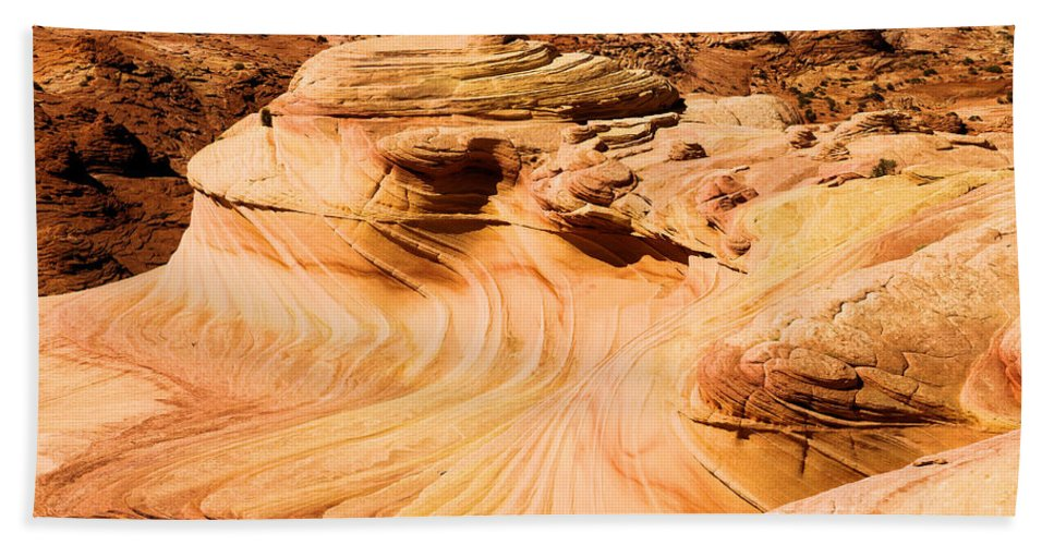 The Dragon Beach Towel featuring the photograph The Dragon by Adam Jewell