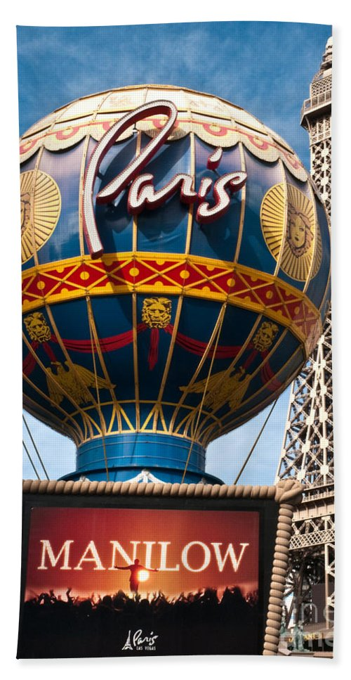 Recreation Beach Towel featuring the photograph The Paris by Jim Chamberlain