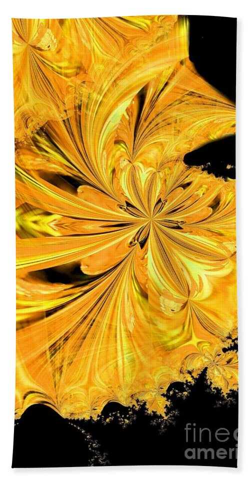 Prince Beach Towel featuring the digital art The Prince Is Having A Ball by Maria Urso
