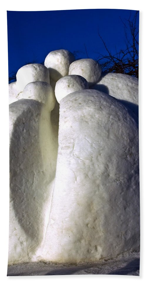 Usa Beach Towel featuring the photograph The Secret At Snowfest 2012 by LeeAnn McLaneGoetz McLaneGoetzStudioLLCcom