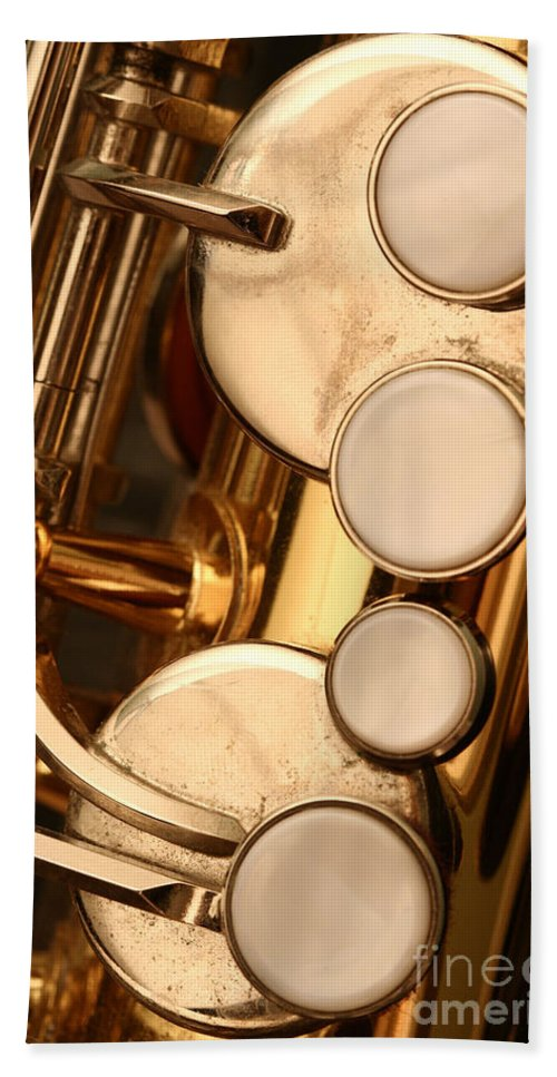 Aged Beach Towel featuring the photograph The Sweet Sound Of Old Jazz by Margie Hurwich