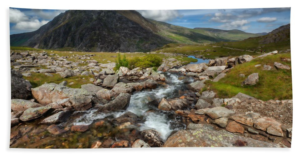 Flowers Beach Towel featuring the photograph The Valley by Adrian Evans