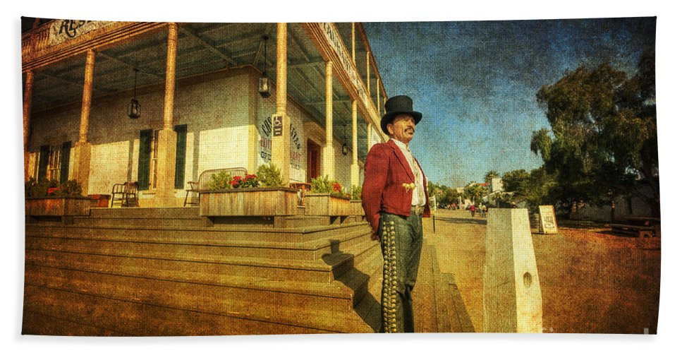 Art Beach Towel featuring the photograph The Wild West by Yhun Suarez