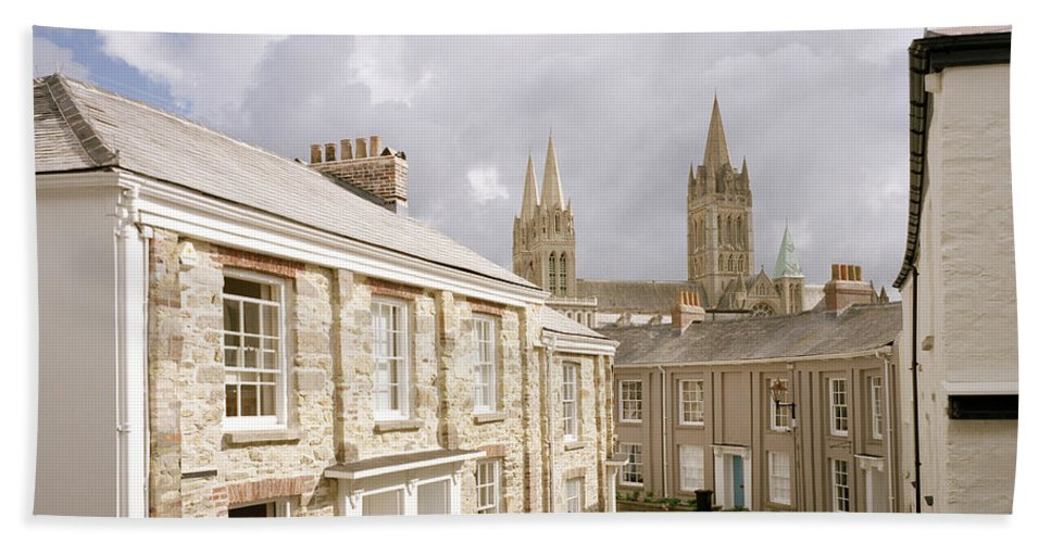 Truro Beach Towel featuring the photograph Truro Cathedral by Shaun Higson