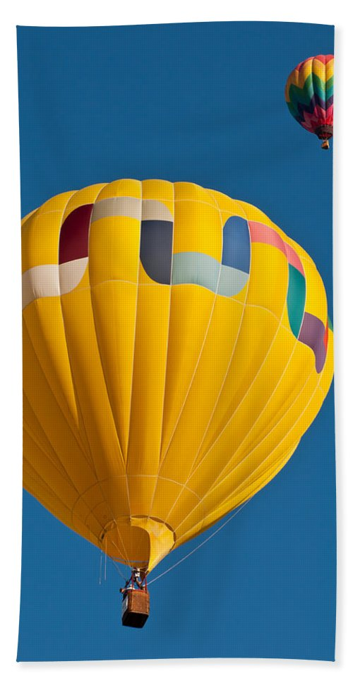 Hot Beach Towel featuring the photograph Up Up And Away by Colleen Coccia
