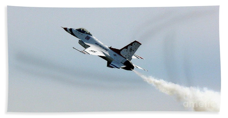 Thunderbird Beach Towel featuring the photograph Up Up And Away by Kevin Fortier