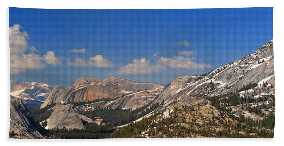 Yosemite Beach Towel featuring the photograph Upper Yosemite Panorama by Lynn Bauer