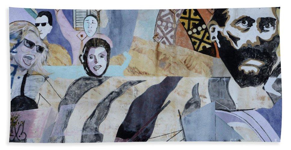 Wall Art Beach Towel featuring the photograph Venice Beach Wall Art 6 by Bob Christopher