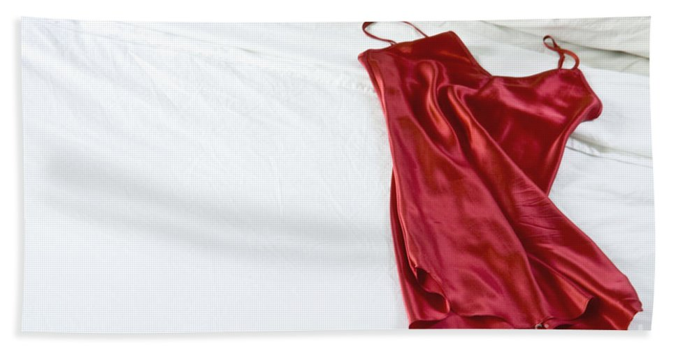 Red Beach Towel featuring the photograph Waiting For The Moment by Margie Hurwich