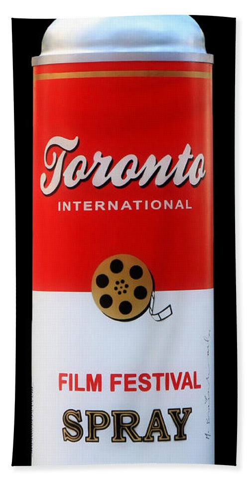 Toronto Beach Towel featuring the photograph Warhol Influence by Andrew Fare