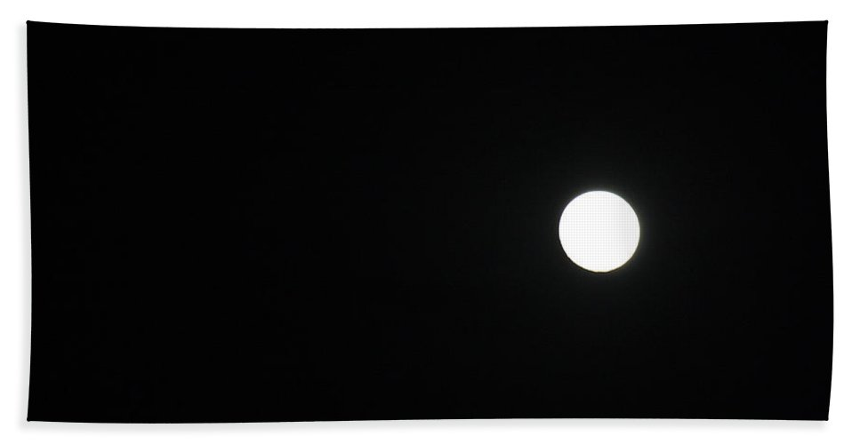 Roena King Beach Towel featuring the photograph White Dot by Roena King
