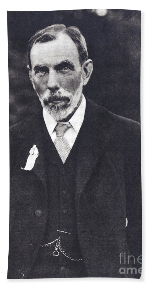 Philosophy Beach Towel featuring the photograph William Ramsay, Scottish Chemist by Science Source