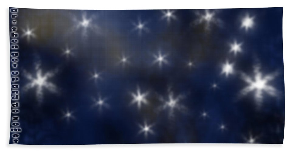 Clay Beach Towel featuring the digital art Wish Upon A Star by Clayton Bruster