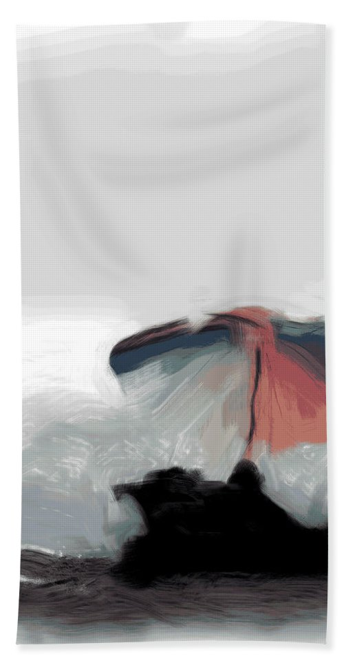 Umbrella Beach Towel featuring the photograph Wishing I Was There by Trish Tritz