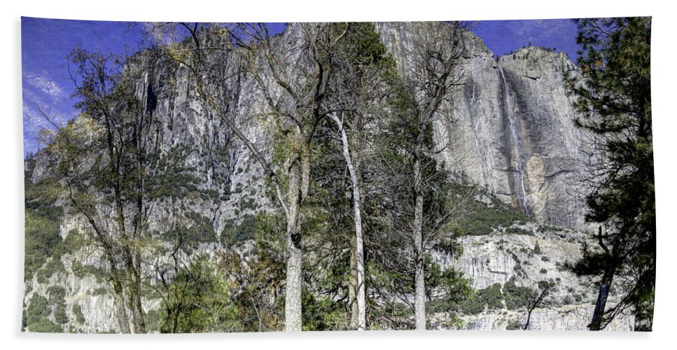 Yosemite Beach Towel featuring the photograph Yosemite Reflection by Mike Herdering