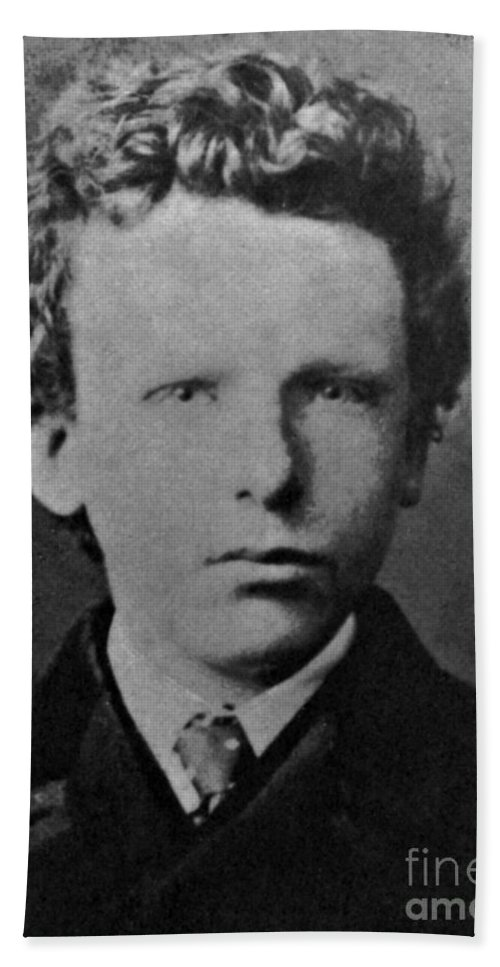 Young Vincent Van Gogh, Dutch Painter Beach