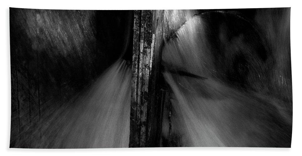 Lehtokukka Beach Towel featuring the photograph The Mill Stream by Jouko Lehto