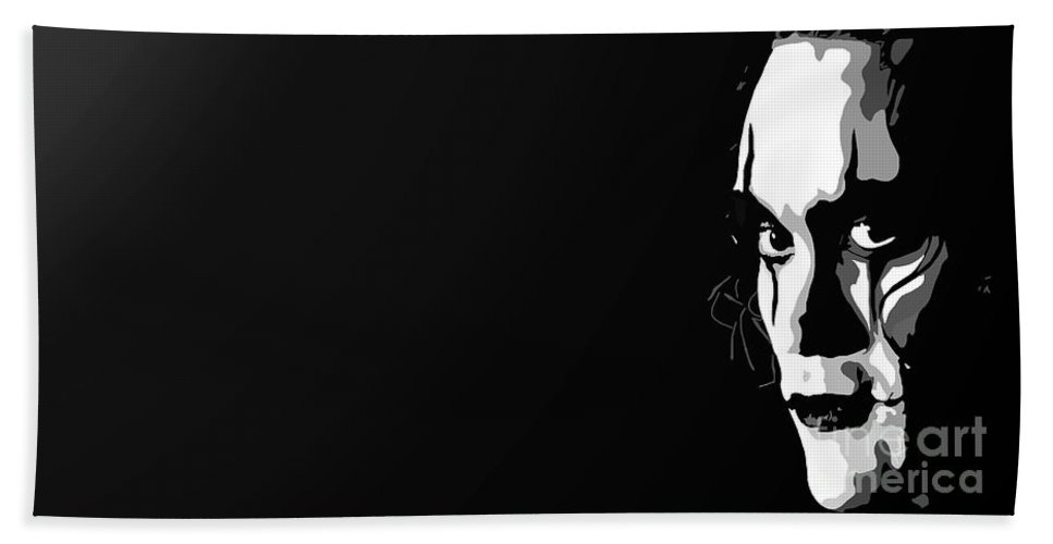 Tamify Beach Towel featuring the painting 019. It Can't Rain All The Time by Tam Hazlewood