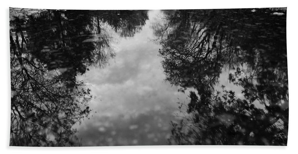 Rain Beach Towel featuring the photograph 0501 by Onyx Armstrong