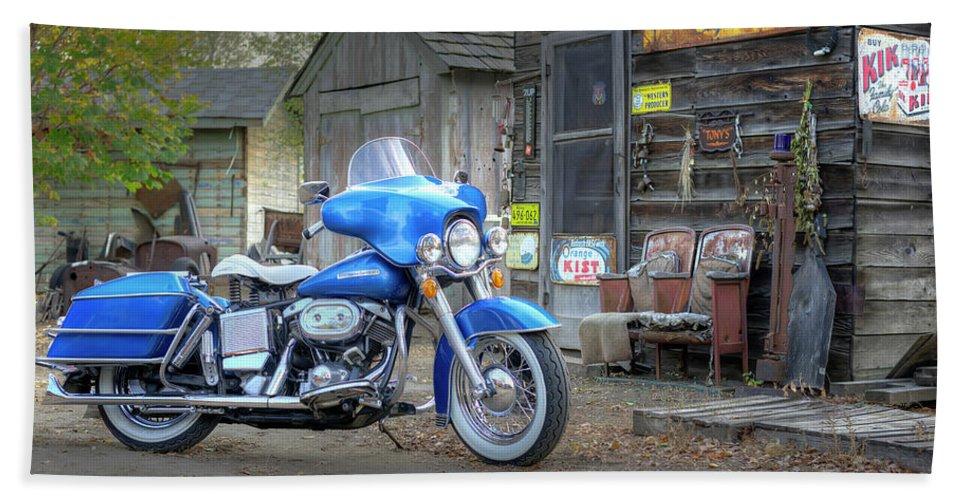 1972 Harley Davidson Flh Shovelhead Beach Sheet
