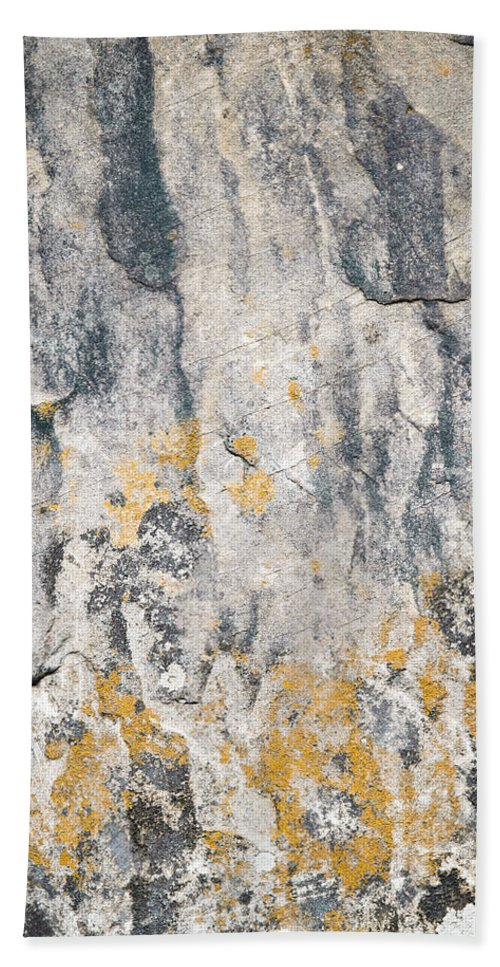 Material Beach Towel featuring the photograph Abstract Texture Old Plaster by Jozef Jankola