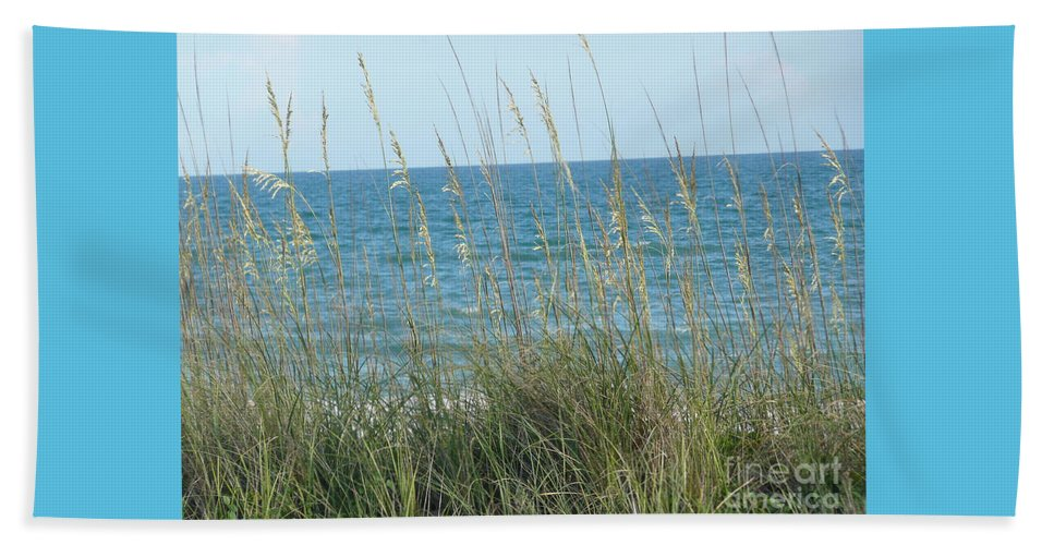 Beach Beach Towel featuring the photograph Afternoon At The Beach by Barb Montanye Meseroll