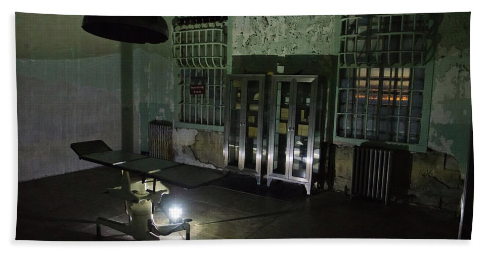San Francisco Beach Towel featuring the photograph Alcatraz Federal Penitentiary by Craig Fildes