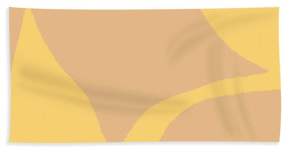 Torso Beach Towel featuring the painting Beach Girl by William Riley