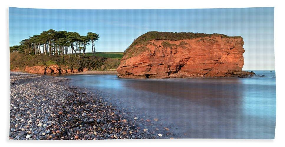 Budleigh Salterton Beach Towel featuring the photograph Budleigh Salterton - England by Joana Kruse