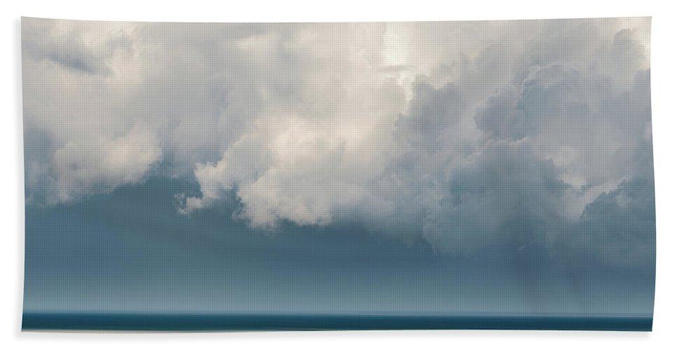 Usa Beach Towel featuring the photograph Chapin Beach 3 by John Whitmarsh